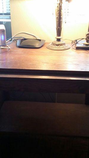 Vintage Oak Small Desk for Sale in ROXBURY CROSSING, MA