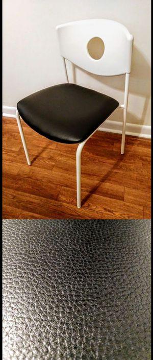 IKEA Black & White Desk Chair for Sale in Durham, NC