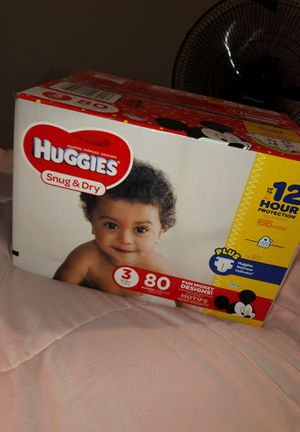 Size 3 Huggies for Sale in Melrose, MA