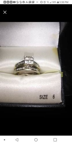 14k White Gold Wedding/Engagement Set for Sale in Denver,  CO