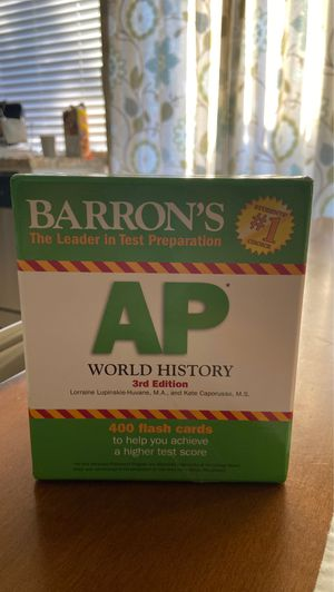 AP FLASH CARDS for Sale in Anaheim, CA