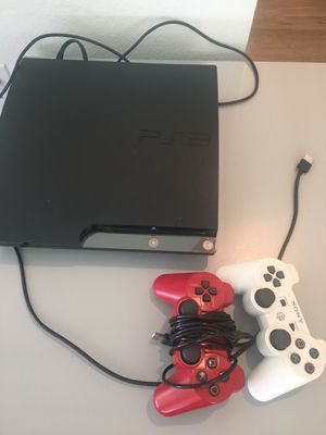PS3 PlayStation 3 with controllers for Sale in Lakewood, CO