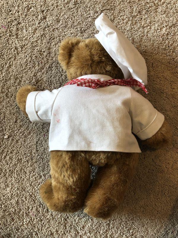 Vermont Teddy Bear Chef Costume