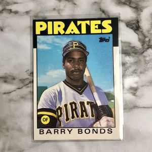 Barry Bonds RC 1986 for Sale in Wichita, KS