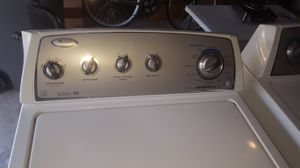 Whirlpool brand washer and gas dryer for Sale in Clinton Township, MI