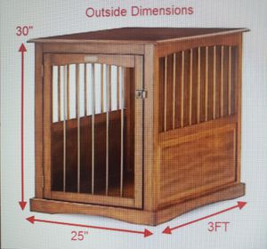 Dog Crate End Table Wooden for Sale in West Palm Beach, FL