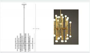 Jhonathan Adler Gorgeous chandelier for Sale in Santa Monica, CA
