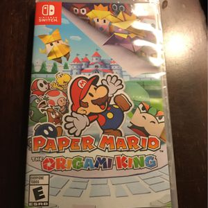 Nintendo Switch - Paper Mario - The Origami King for Sale in Peoria, AZ