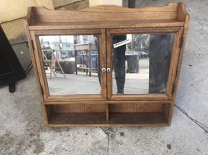 Beautiful antique cabinet for Sale in Los Angeles, CA