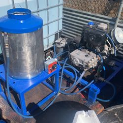 Trailer pressure washer and burner tank included for Sale in Las Vegas,  NV