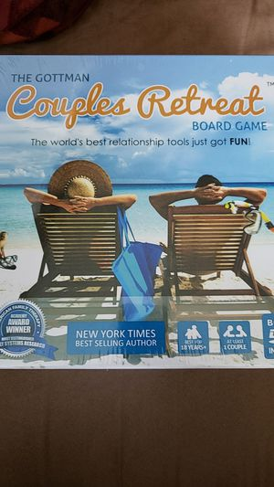 The Gottman Cougles Retreat Board Game for Sale in Bellevue, WA