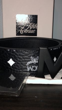 Authentic Black Reversible Mcm Belt for Sale in Brooklyn,  NY