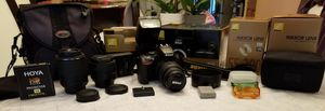 Barely Used Nikon D5500 Camera Set With 3 Lenses and Accessories For Sale for Sale in Mount Prospect, IL