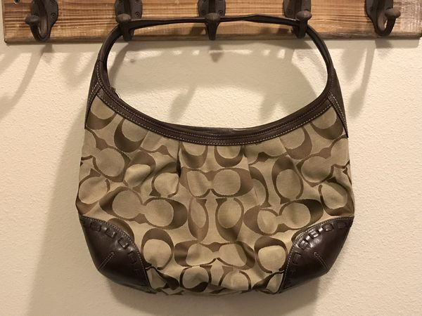 Brown/Tan Coach Hobo Hand Bag GREAT PRICE!!