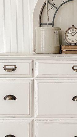 White Farmhouse Dresser for Sale in Seattle,  WA