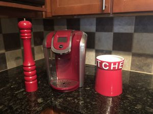 Red Kitchen Items for Sale in Frisco, TX