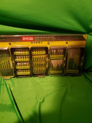 RYOBI DRILLING & DRIVING MULTI-PACK 150 PIECE for Sale in Beaumont, CA