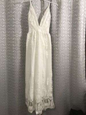 Wedding/Beach Lace Dress XLG for Sale in Mount MADONNA, CA