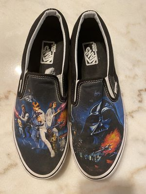Authentic Men's Star Wars vans size 9 great condition for Sale in Muncy, PA