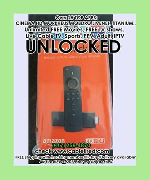brand new fire TV stick 4k for Sale in New York, NY