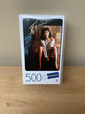 500 Piece FLASHDANCE Blockbuster Movie Lovers Puzzle - Cardinal Games Puzzle for Sale in Bothell, WA