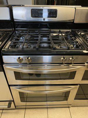 Kenmore 4 Burner Double Oven Gas Range for Sale in Elkridge, MD
