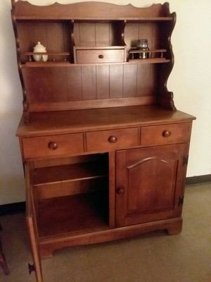 Maple hutch for Sale in Bristol, CT