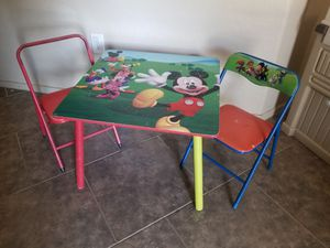 Table and 2 chairs for Kids for Sale in Phoenix, AZ