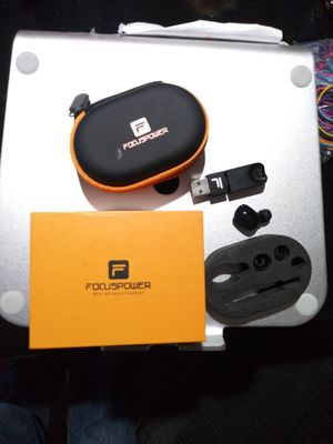FOCUS POWER MINI WIRELESS HEADSET SINGLE BLUETOOTH,HAS CHARGER USB FOR ANY QUESTION TEXT ME PLEASE. for Sale in Los Angeles, CA