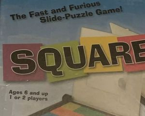 MindWare SQUARE UP - A Puzzle Board Game, Age 6+ 1-2 Players, New, Tile Matching for Sale in San Diego, CA