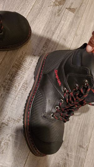 Steel toe boots snap on for Sale in Los Angeles, CA