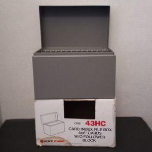 New Old Stock#4x6 lndex Card File Bov for Sale in Lomita, CA