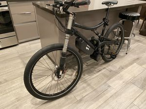 Electric Cannondale lefty bike BBSHD 2 to 3 KW for Sale in Los Angeles, CA
