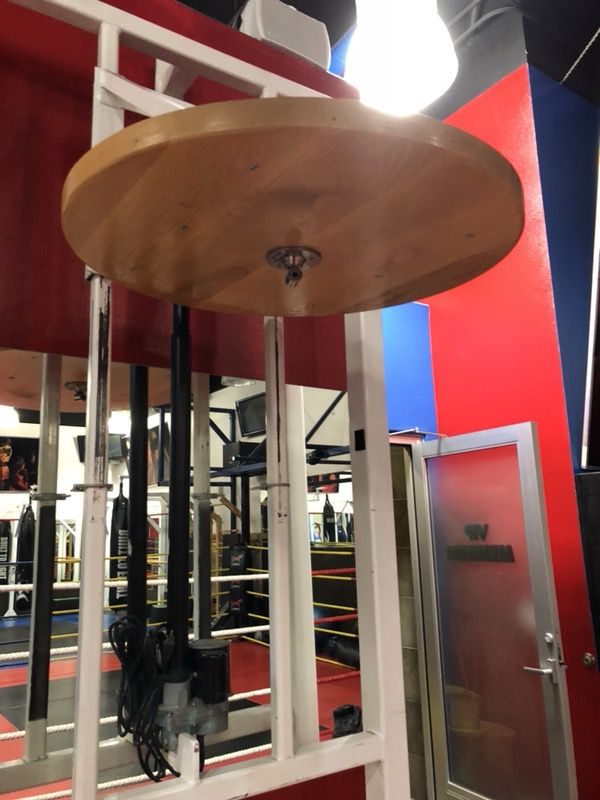 Automated Speed Bag Platform