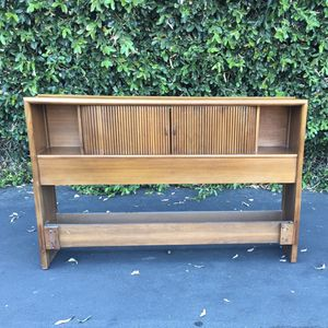 Mid Century Modern Full Headboard Parallel Collection by Barney Flagg for Drexel for Sale in Pomona, CA
