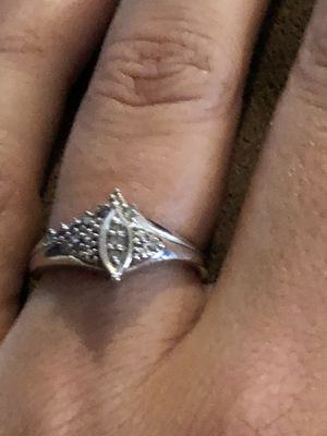 White gold ring for Sale in Eskdale, WV
