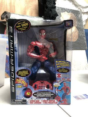 """Spider-Man 3 Action Command Figure 16"""" Collectible for Sale in National City, CA"""