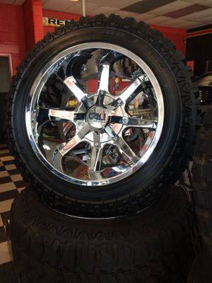 Rims and tires 6x135/5.5 20x12 for Sale in Lakeland, FL