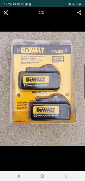 Dewalt Batteries for Sale in Eagle Lake, FL