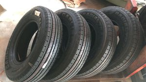 Carlisle Radial Trail HD Trailer Tire - ST205/75R14 LRC/6ply for Sale in Houston, TX