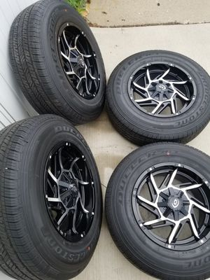 "18"" Prowler Wheels & Bridgestone Tires for Sale in Chicago, IL"