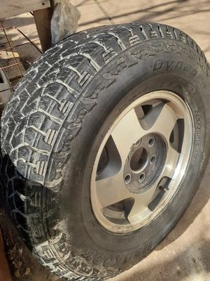 """16"""" 6 lug wheels and tires 265/70 16 for Sale in Wichita, KS"""
