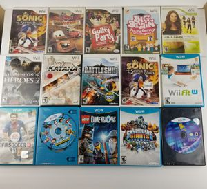 Nintendo Wii and Wii U games for Sale in Long Beach, CA