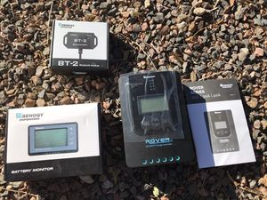 Renogy Monitor, Bluetooth Module, & Charge Controller for Sale in Wheat Ridge, CO