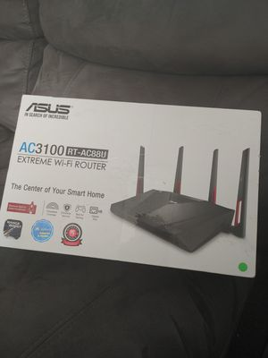 Asus AC3100 Router Extreme for Sale in Bakersfield, CA