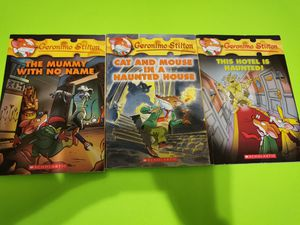 Geronimo Stilton books lot of 3 spooky books! for Sale in McDonough, GA