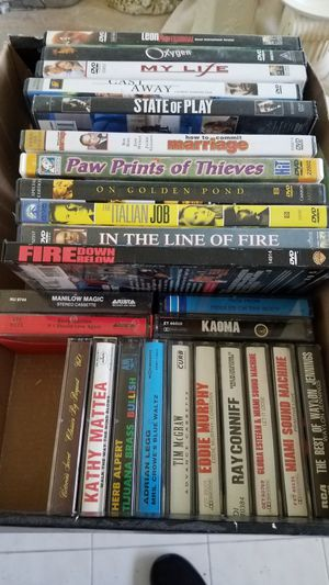 Grab box -- DVDs and Cassettes for Sale in Miami, FL
