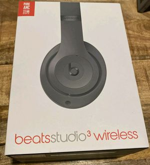 Sealed Beats Studio 3 Wireless Headphones Black for Sale in Hayward, CA