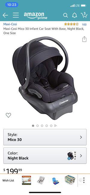 Maxi cosi car seat for Sale in Clovis, CA