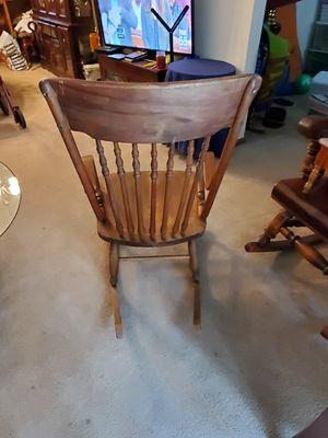 Wood rocker for Sale in Fort Wayne, IN